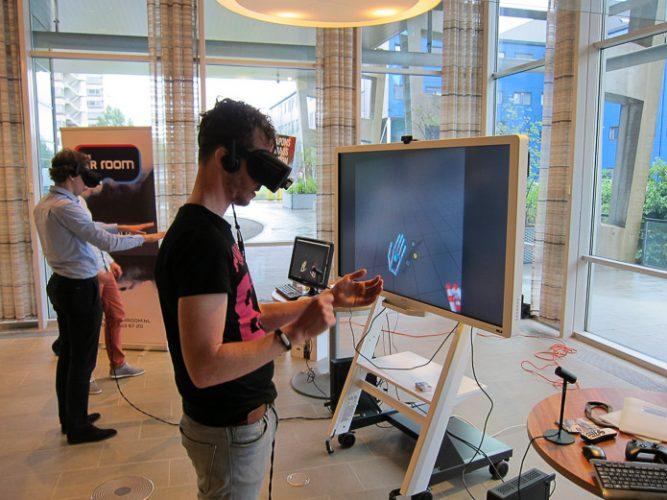 Vechten in VR