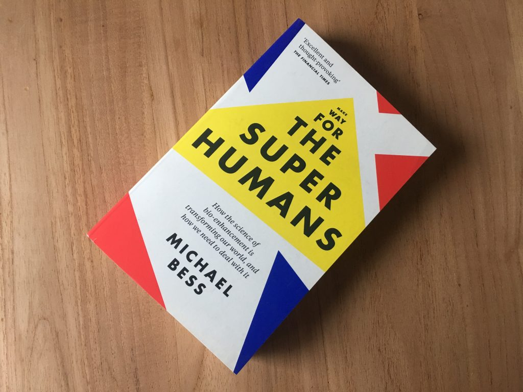 Book Make Way for the Superhumans Michael Bess