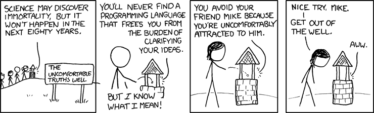 XKCD cartoon science